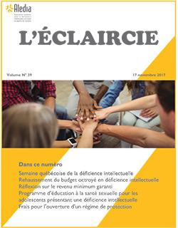 "Newspaper ""L'Éclaircie 2017"""